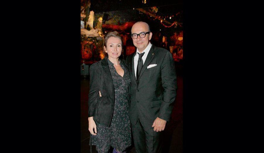 Daisy D'Errata et son mari Karl Zéro qui a fait une émission sur le réseau pédophile Zandvoort.