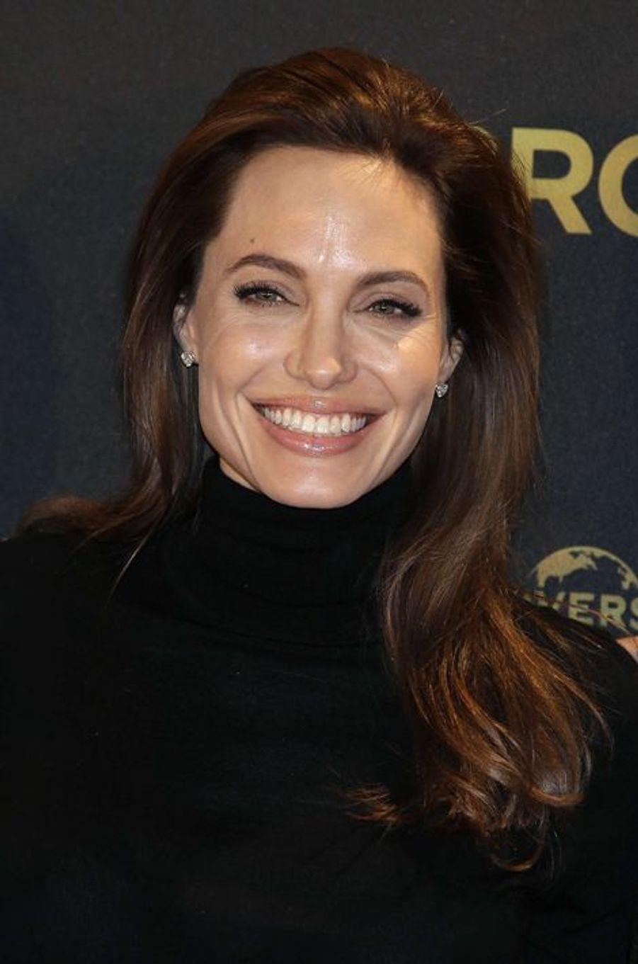 Angelina Jolie, née le 4 juin 1975 à Los Angeles