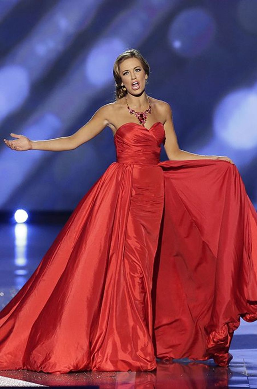 Betty Cantrell est Miss America 2016