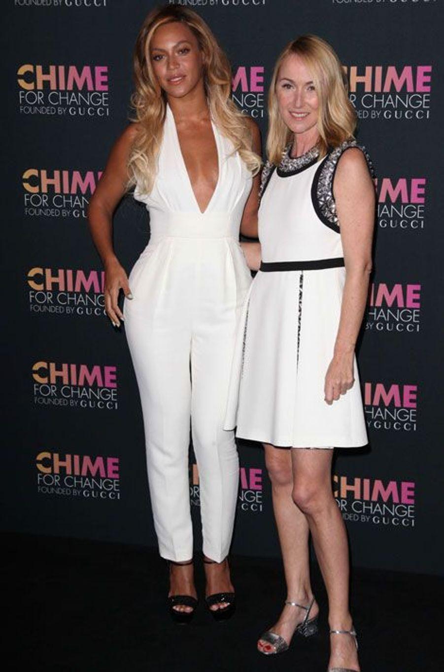 Beyoncé et Frida Giannini