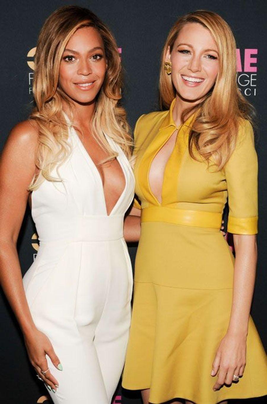 Beyoncé et Blake Lively ensemble pour les femmes