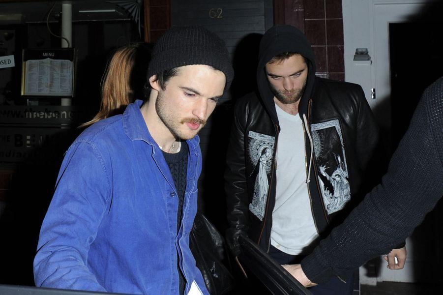 Tom Sturridge et Robert Pattinson