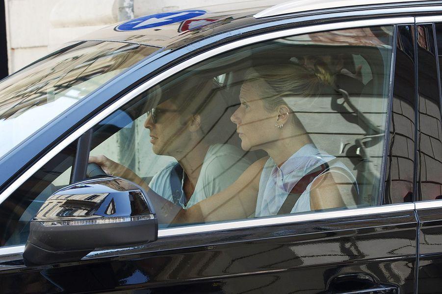 Brad Falchuk et Gwyneth Paltrow