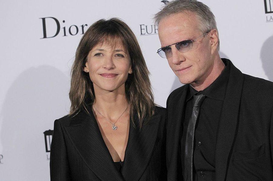 """Rencontrés en 2007 sur le tournage du film """"La disparue de Deauville"""", les deux acteurs ont annoncé leur«amicale séparation» le 11 juillet dernier à l'AFP."""