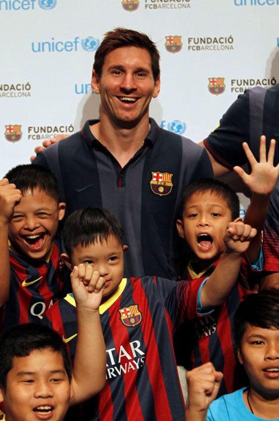 Lionel Messi, en août dernier à Bangkok