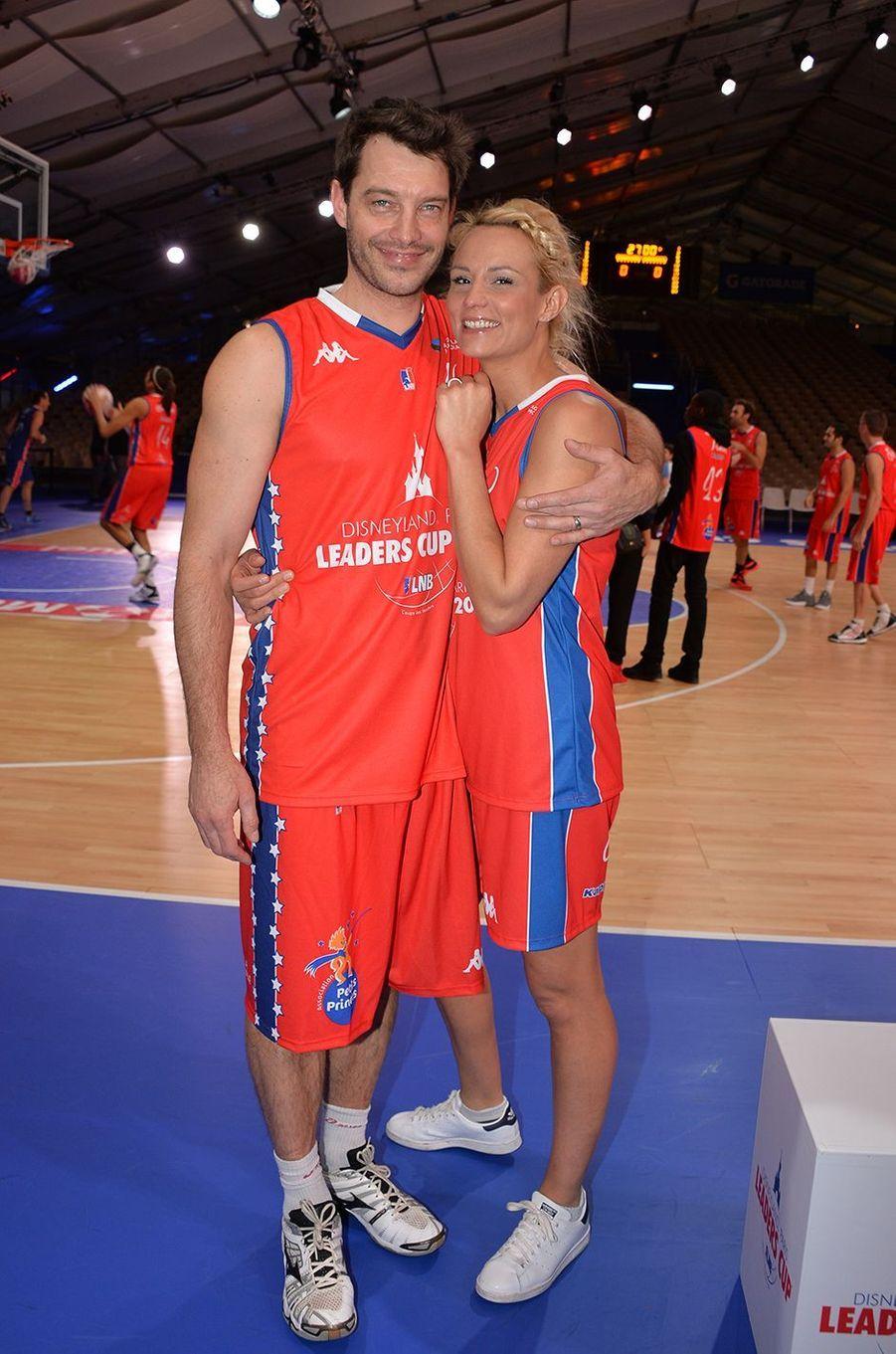 Bertrand Lachérie et Elodie Gossuin