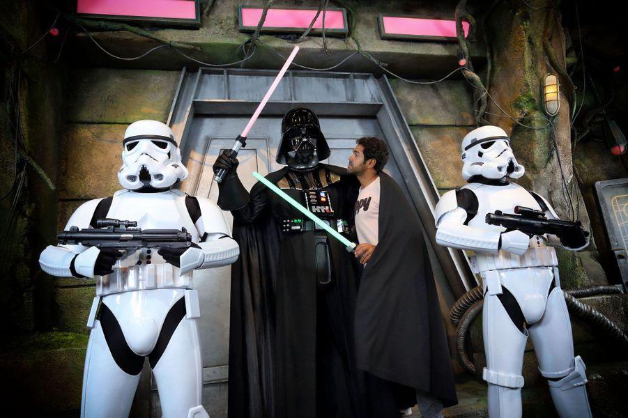 Jamel Debbouze à Disneyland Paris pour la rentrée Star Wars