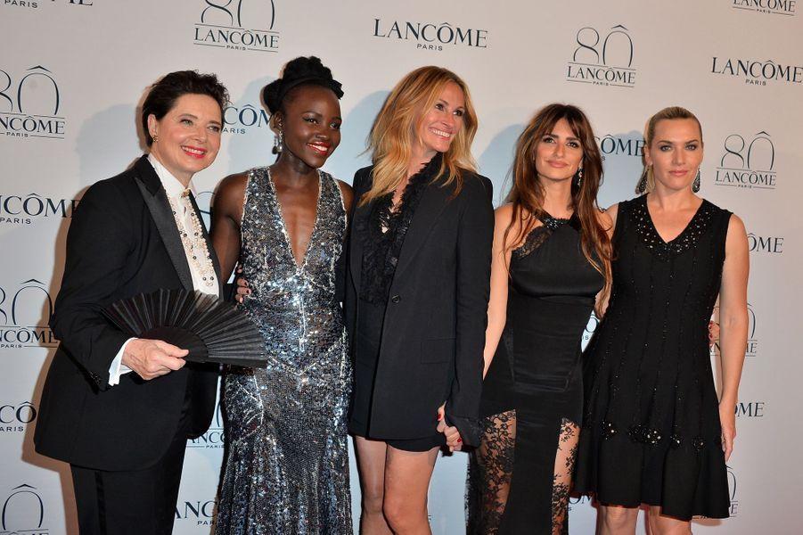 Isabella Rossellini, Lupita Nyong'o, Julia Roberts, Penélope Cruz et Kate Winslet