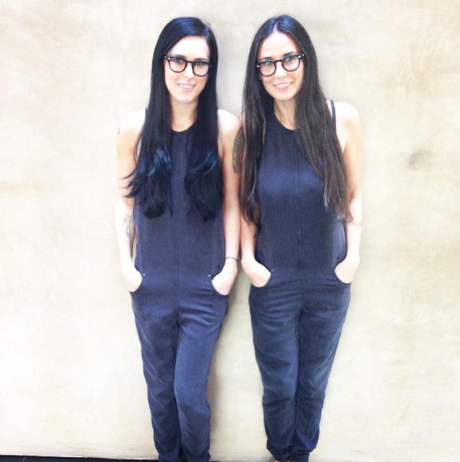 Demi Moore et sa fille Rumer