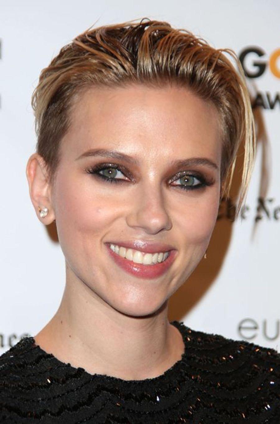 Scarlett Johansson à New York le 1er décembre 2014