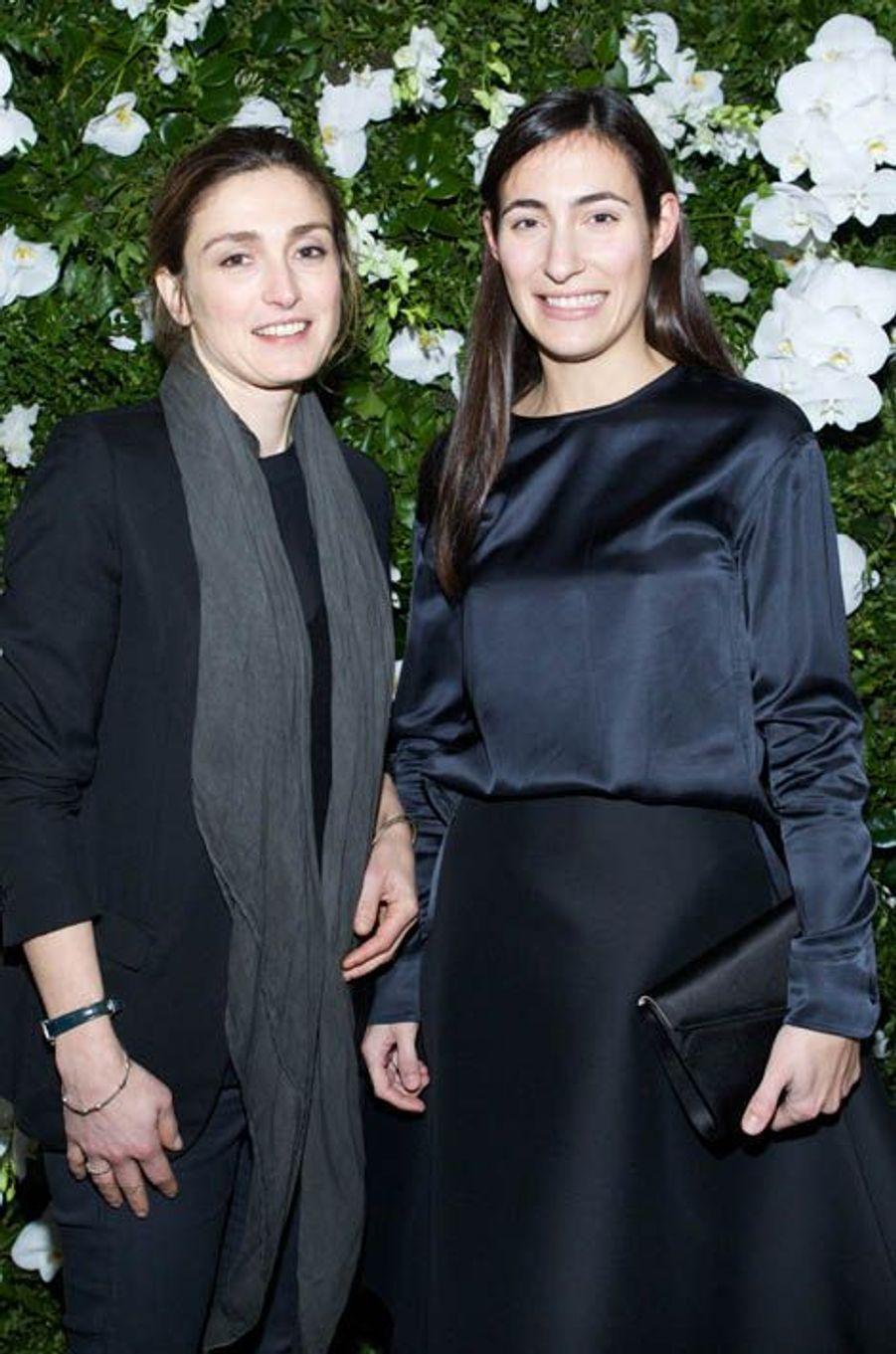 Julie Gayet et Charlotte Dauphin de la Rochefoucauld
