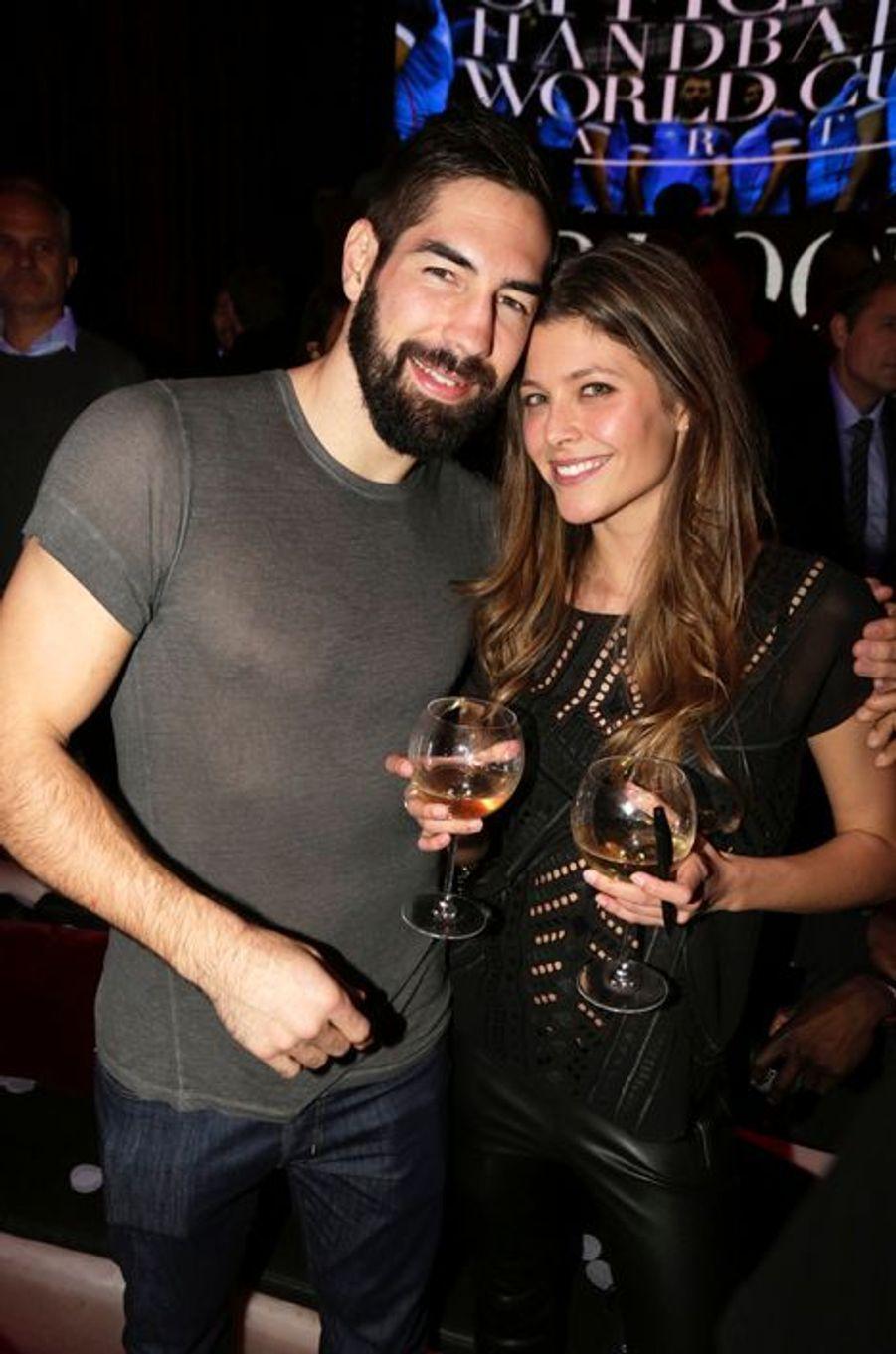 Le handballeur Nikola Karabatic et sa compagne, Géraldine Pillet, attendent leur premier enfant. Le bébé est prévu pour avril 2016.