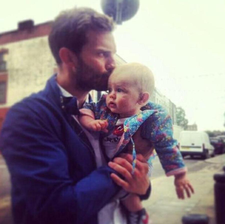 Jamie Dornan et sa fille Dulcie