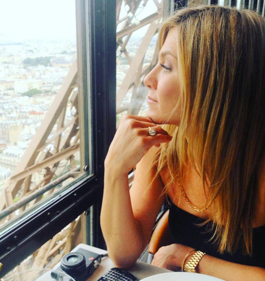 Jennifer Aniston photographiée par Justin Theroux