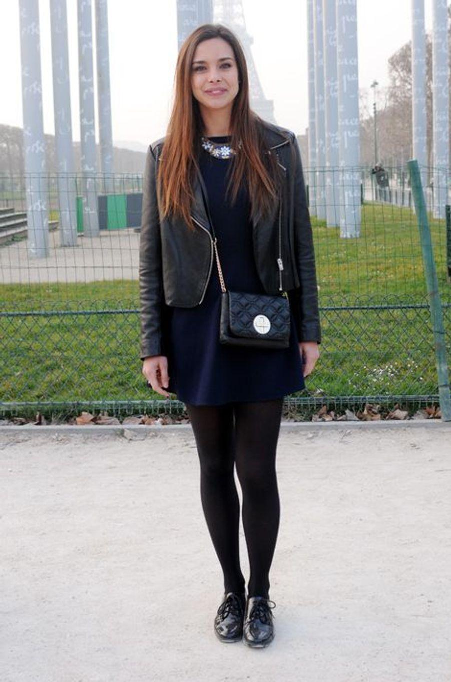 Marine Lorphelin à Paris le 18 mars 2015