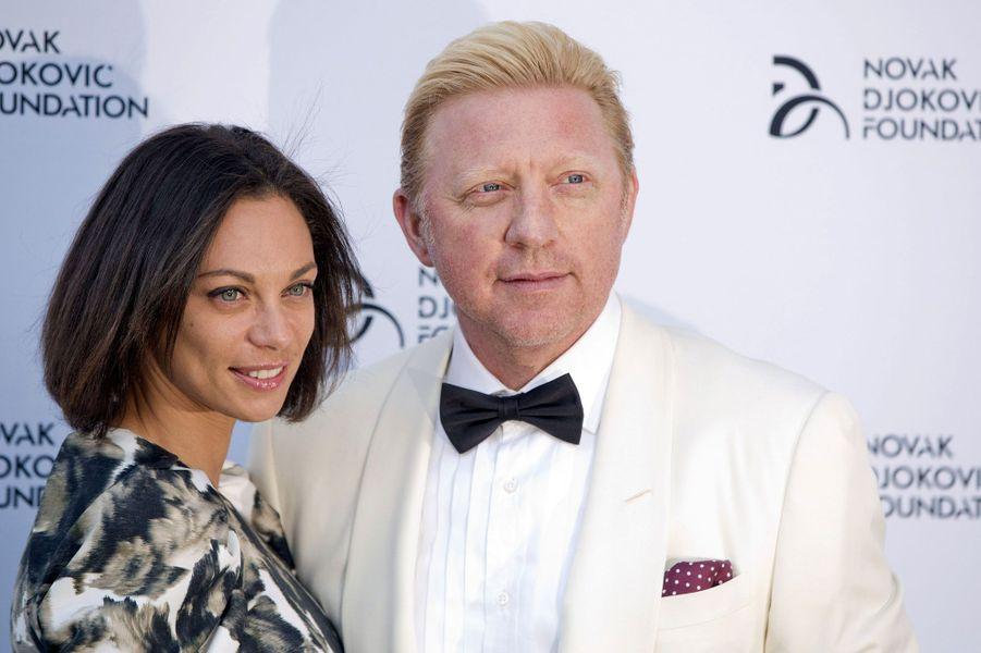 Boris Becker et sa femme