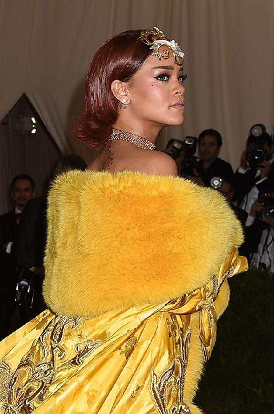Rihanna en Guo Pei Couture