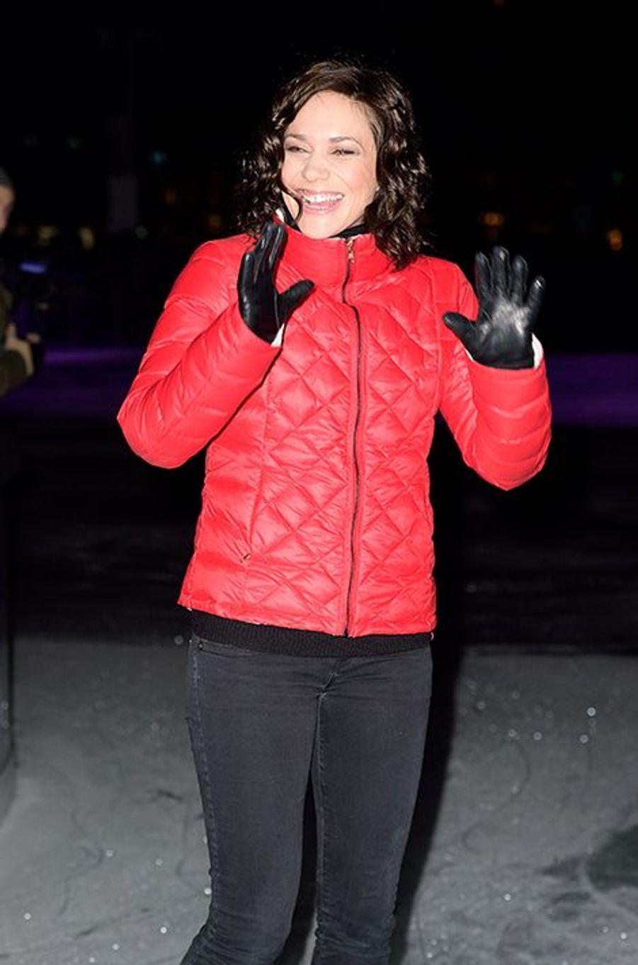 Nathalie Péchalat à Paris le 16 décembre 2014