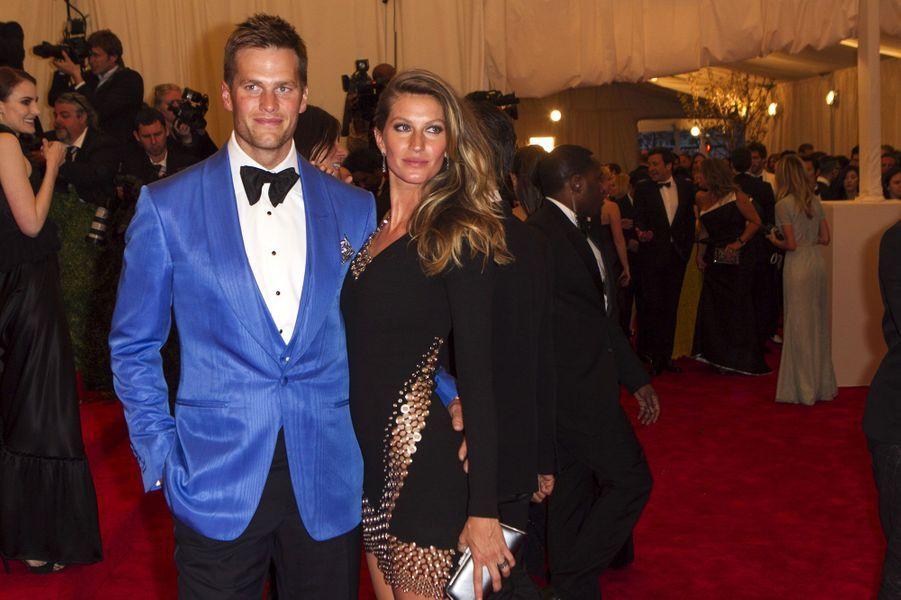 En 2013, Gisele Bündchen et Tom Brady ont gagné 80 millions de dollars