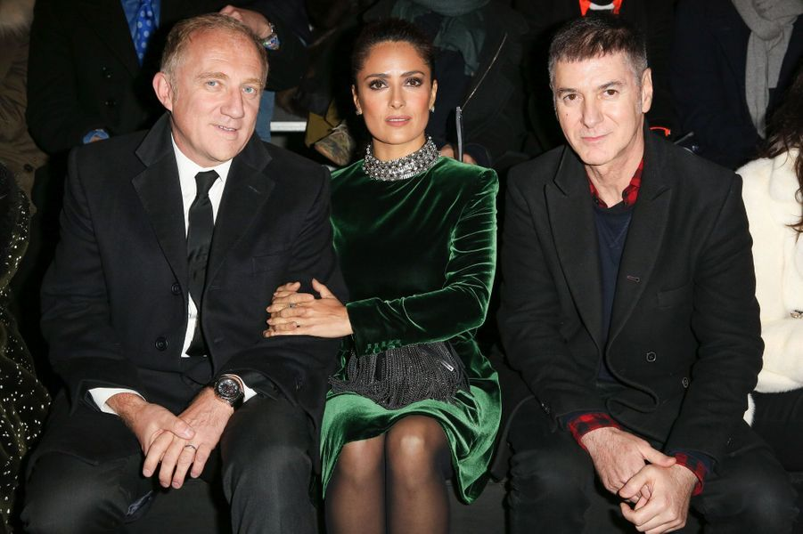 François-Henri Pinault, Salma Hayek et Etienne Daho