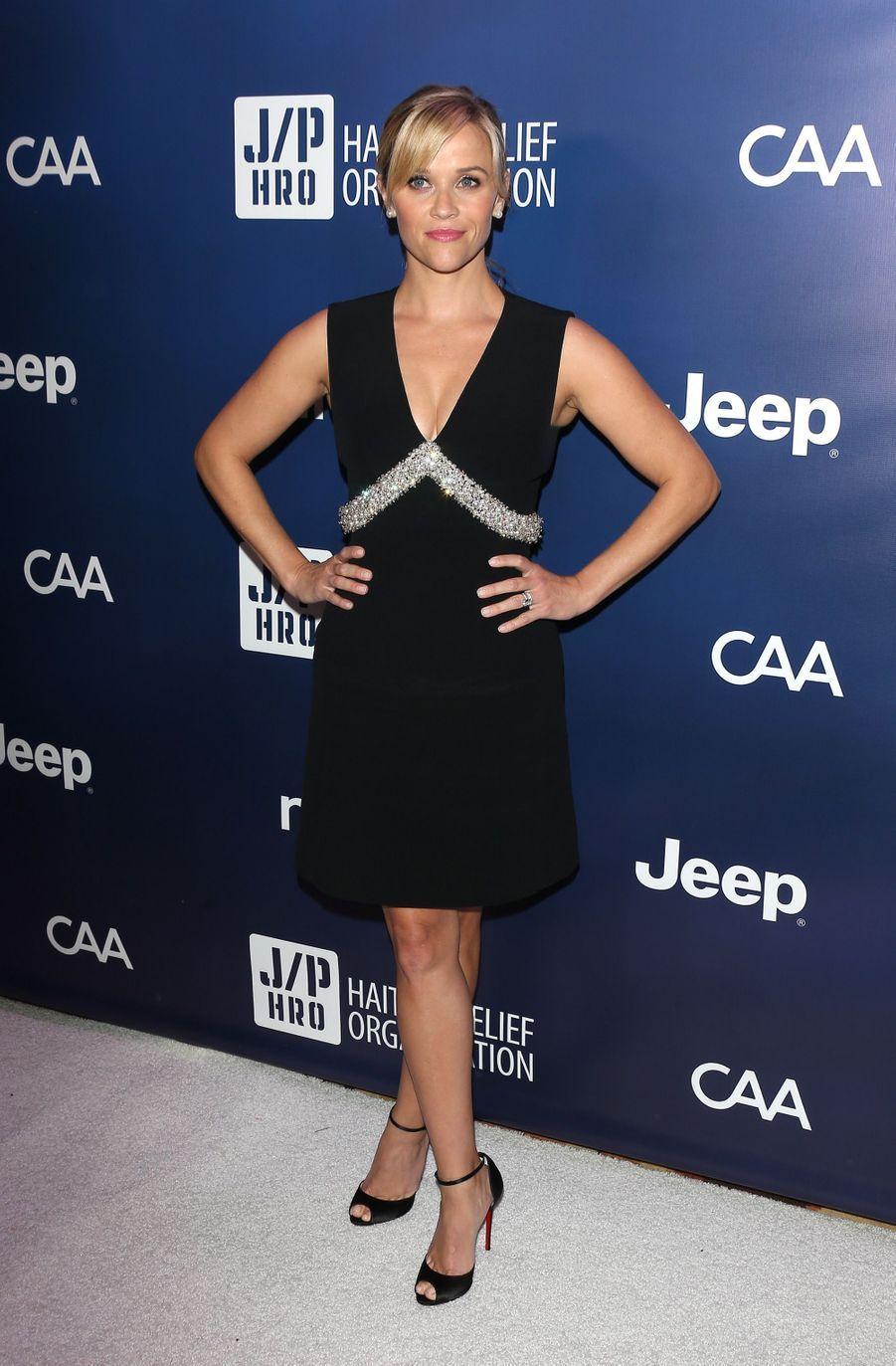 Reese Witherspoon au Sean Penn & Friends Help Haiti Home Gala