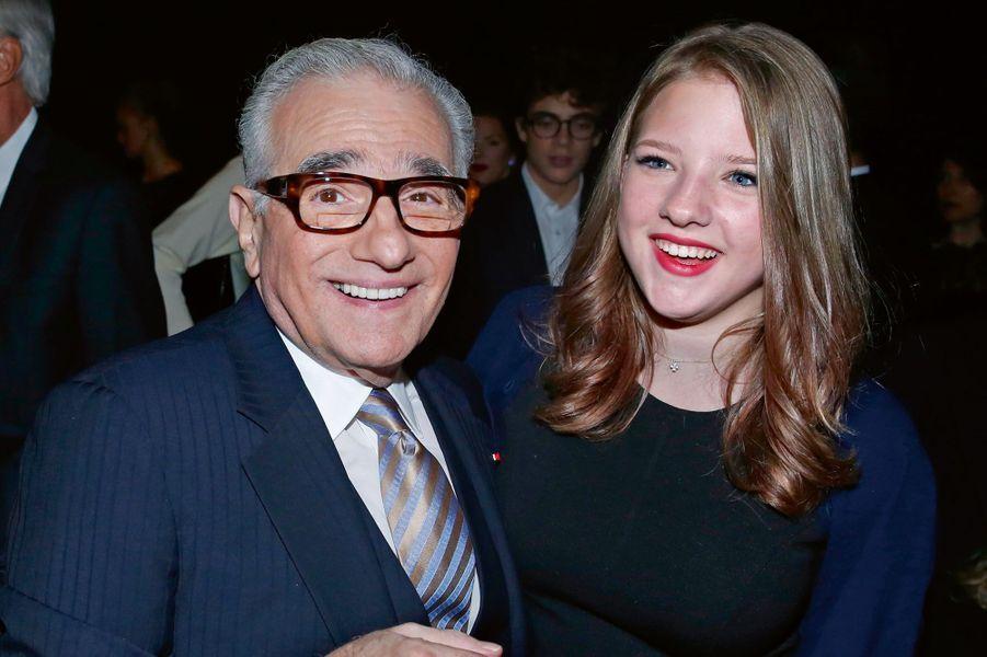 Martin et Francesca Scorsese.