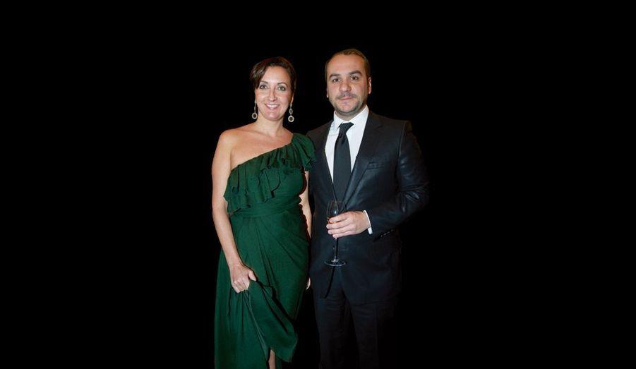 Emmanuelle et François-Xavier Demaison, qui écrit son prochain show.