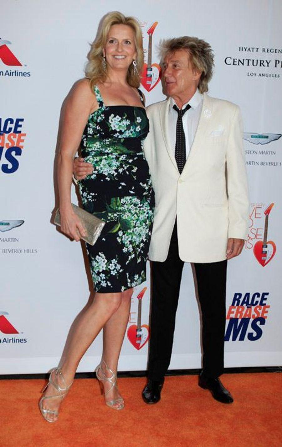 Rod Stewart et sa fille