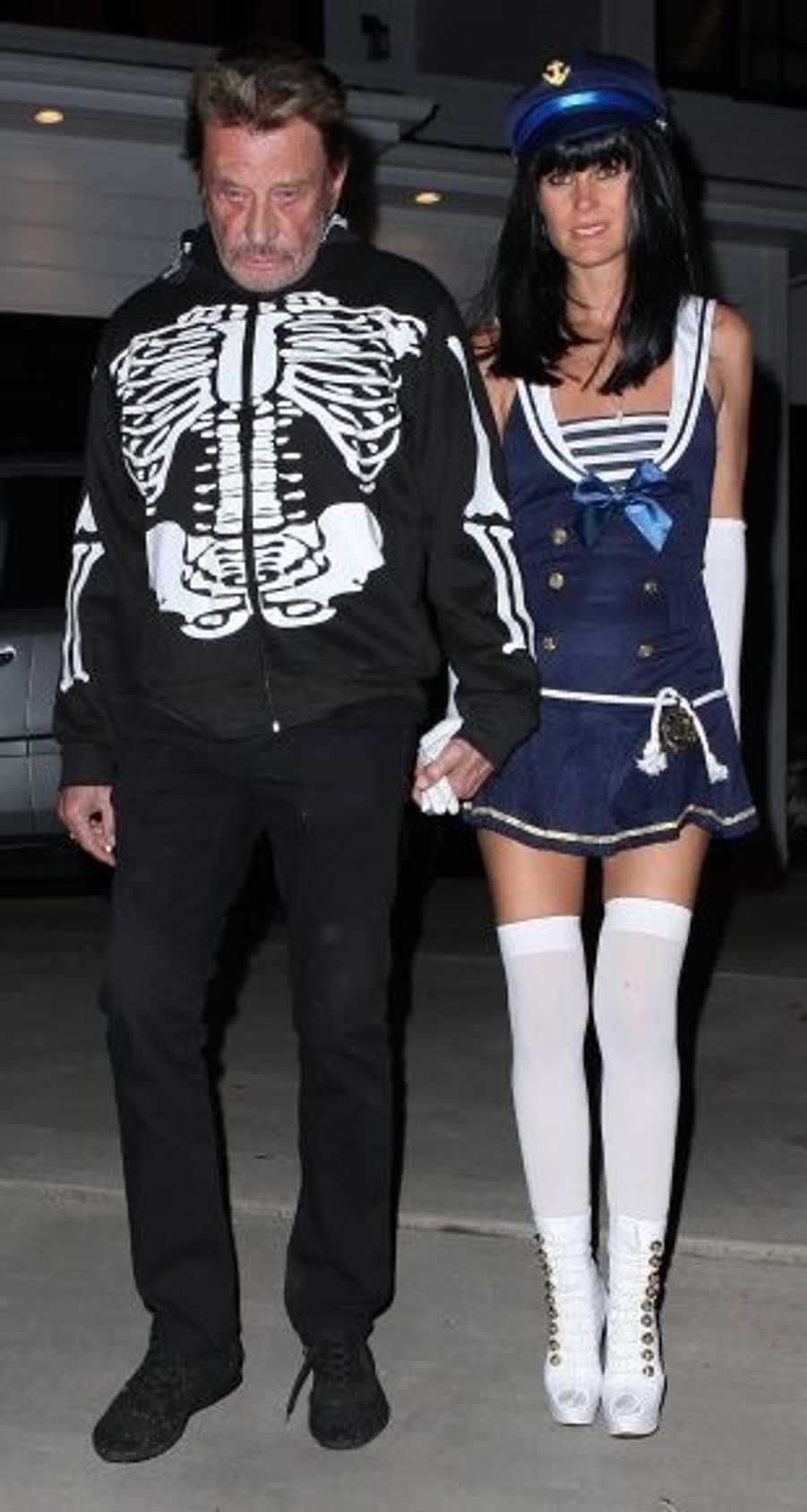 Johnny Hallyday et Laeticia