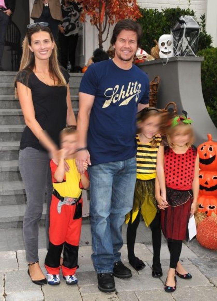 Mark Wahlberg en famille