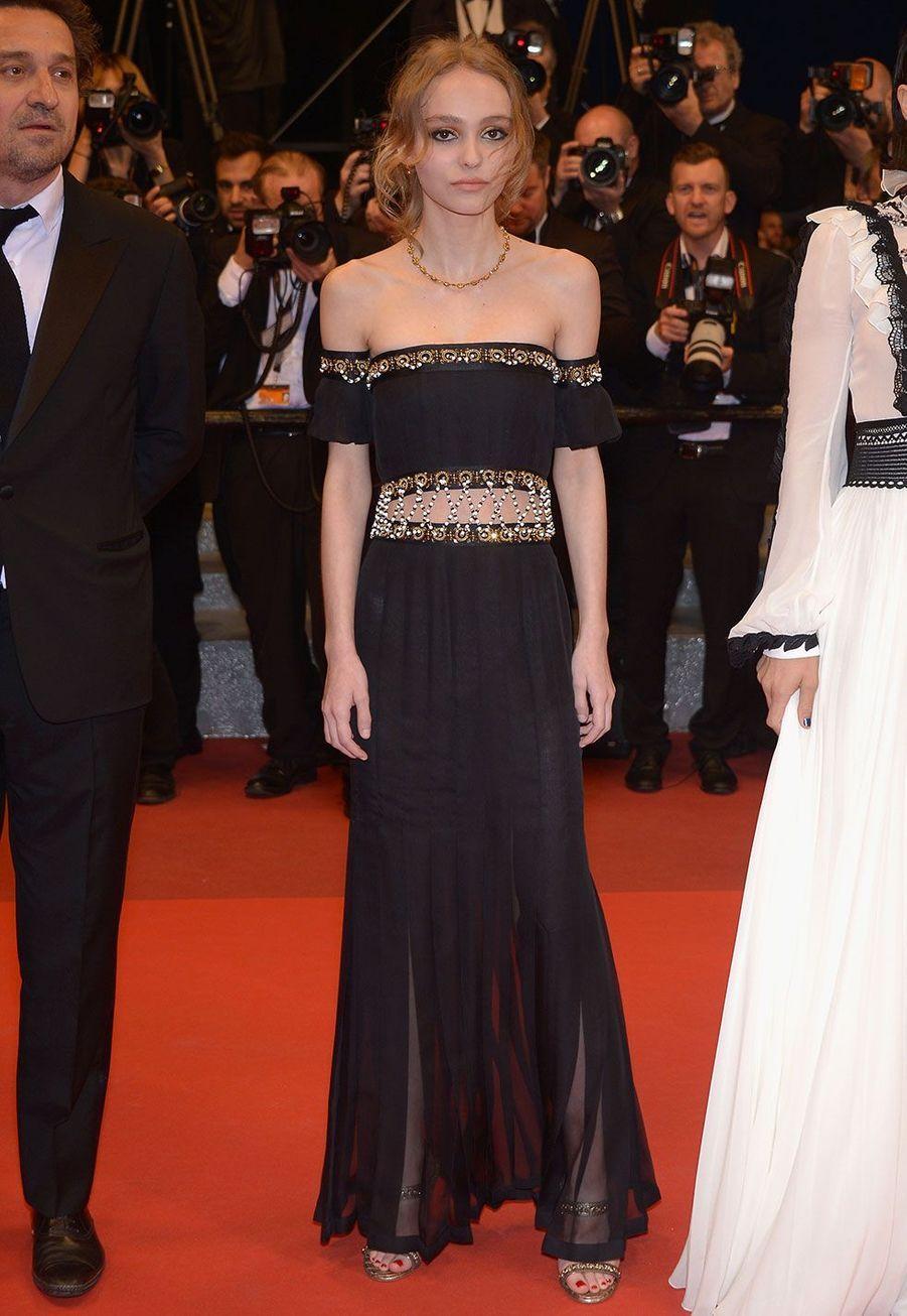 Lily-Rose Depp en Chanel