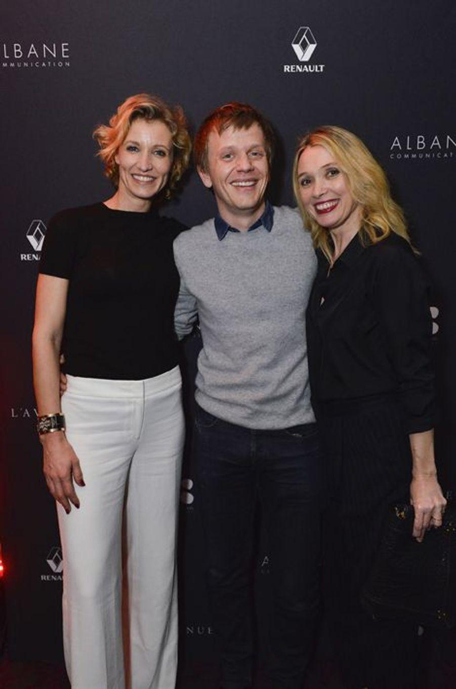 Alexandra Lamy, Alex Lutz et Anne Marivin