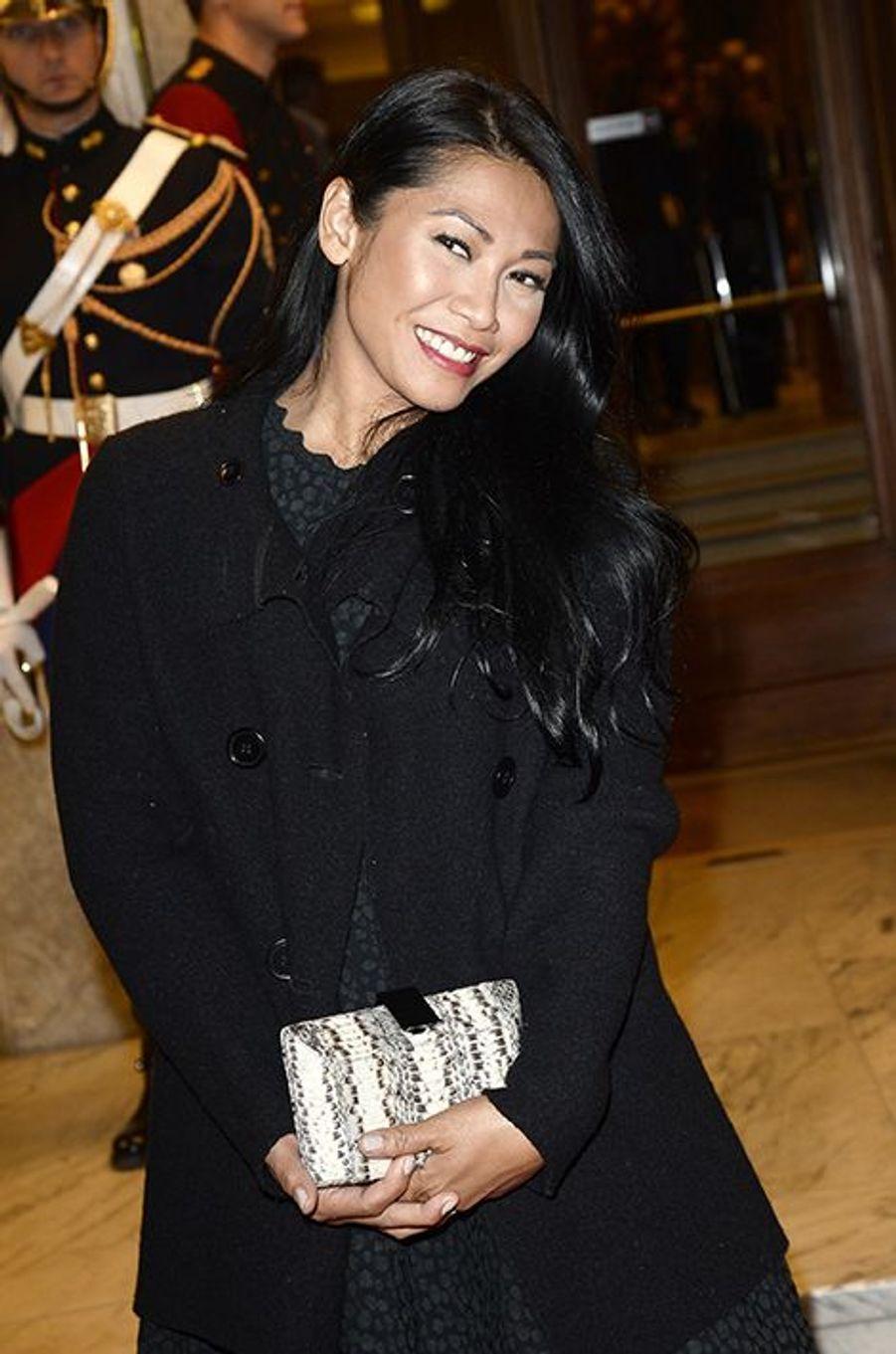 Anggun à Paris le 23 octobre 2014