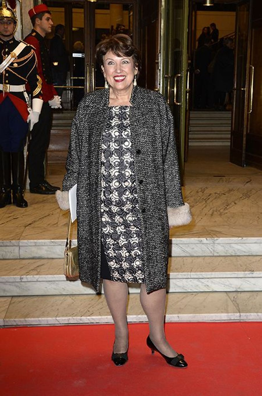 Roselyne Bachelot à Paris le 23 octobre 2014