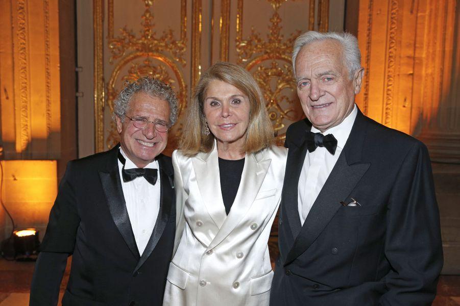 Laurent Dassault, Françoise et Philippe Labro.
