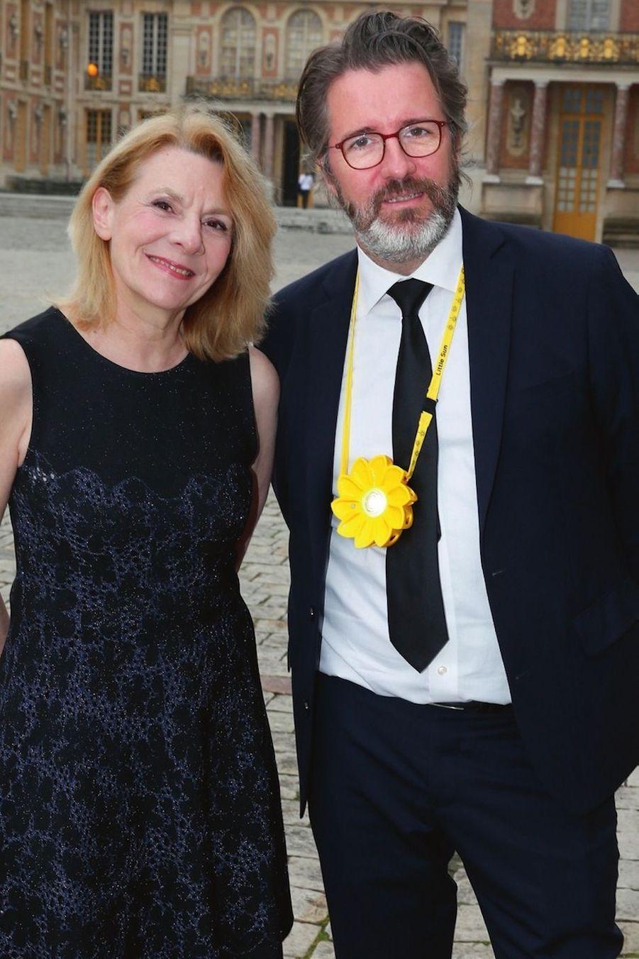 Catherine Pégard et Olafur Eliasson.