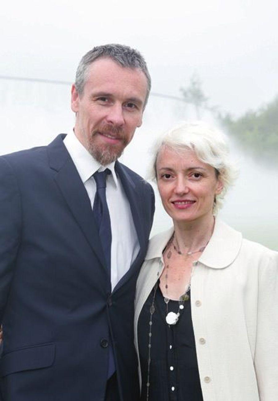Nicolas Le Riche et Clairemarie Osta.