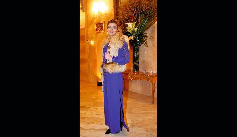 La très belle Lola Karimova, représente l'Ouzbékistan, son pays, auprès de l'Unesco.