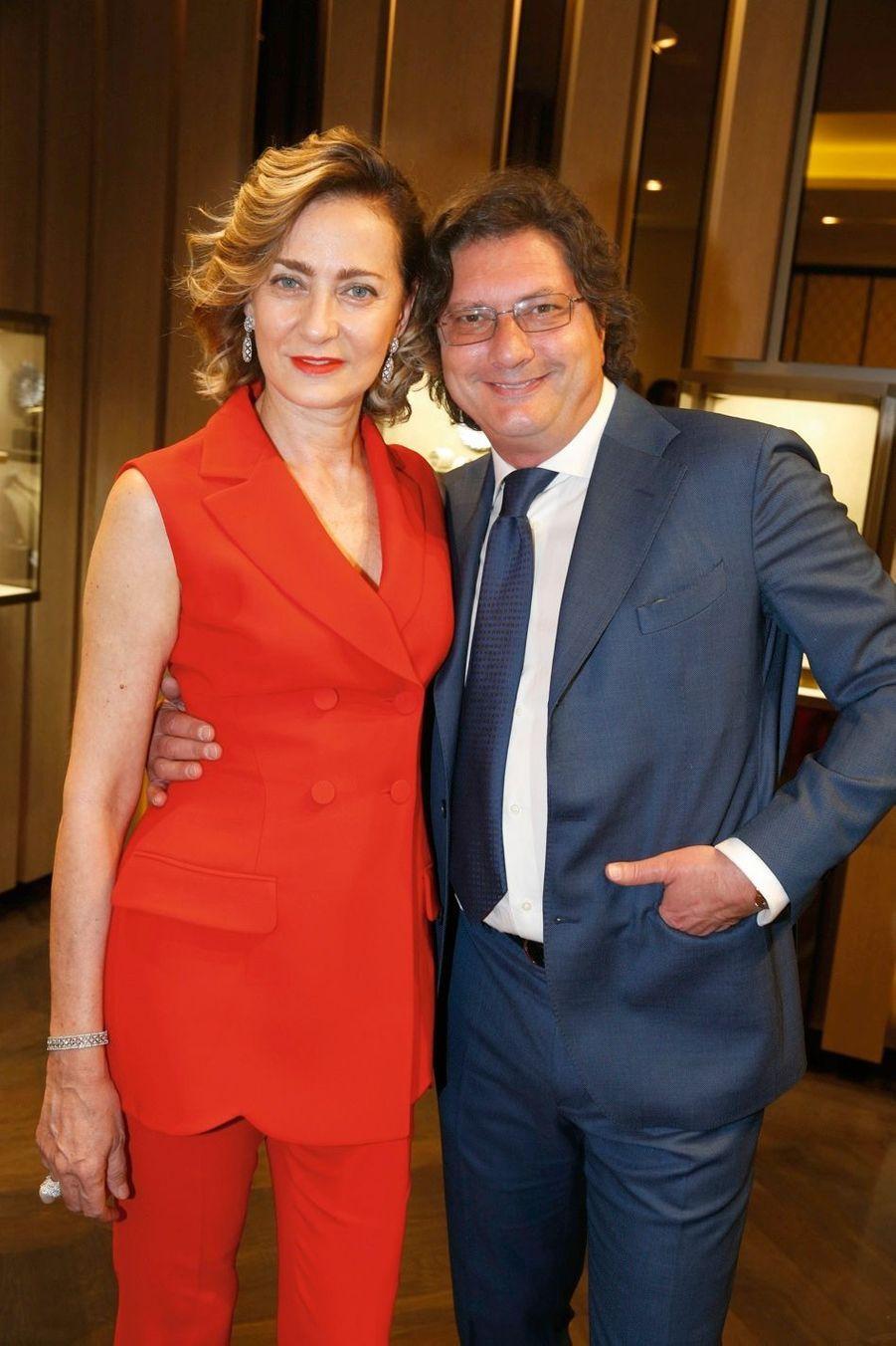 Maria Cristina et Luca Buccellati.