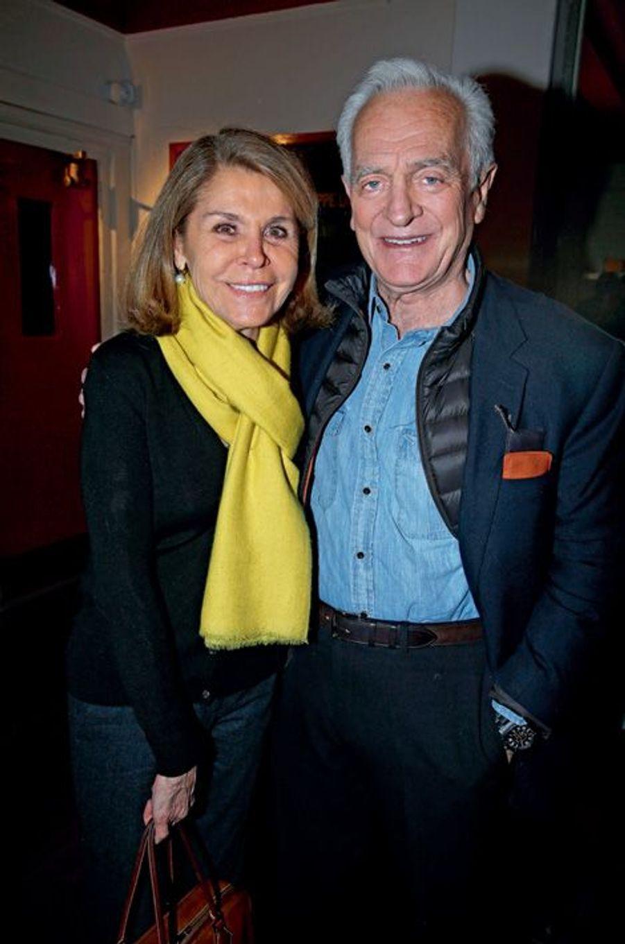Françoise  et Philippe Labro.
