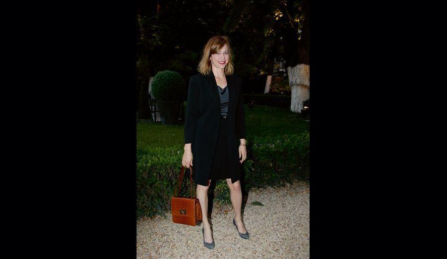 Prix Romy-Schneider 2010, Marie-Josée Croze voue une totale admiration à Romy.