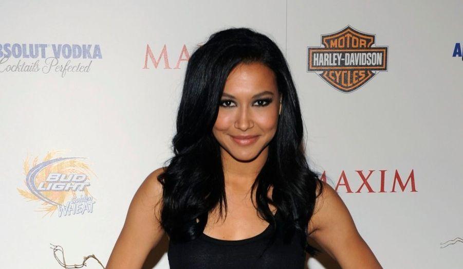 La jolie Naya Rivera, encore inconnue en France, cartonne aux Etats-Unis dans la très populaire série Glee.