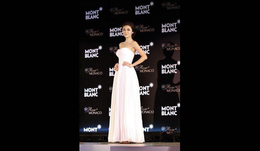 L'actrice chinoise est fan de Grace Kelly.