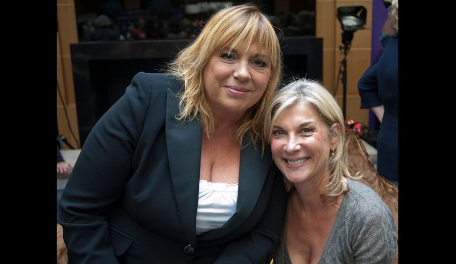 Michèle Bernier et Michèle Laroque