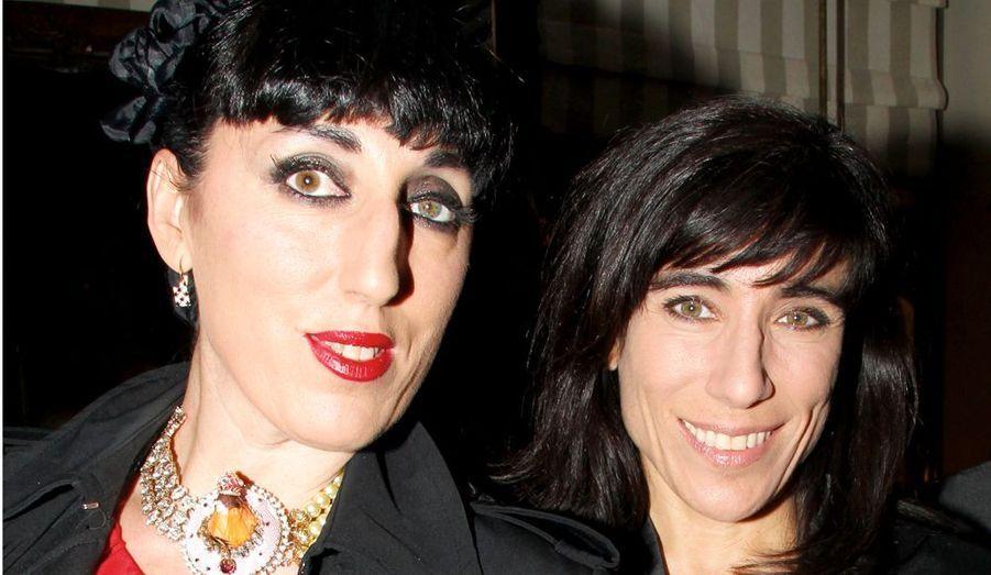 Deux fans des souliers à semelle rouge : Rossy de Palma et Blanca Li