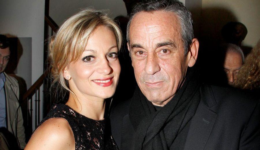 Thierry Ardisson et Audrey, sa nouvelle copine.