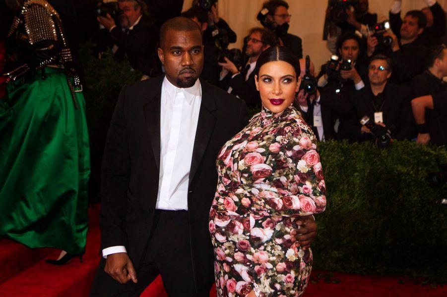 la fille de Kanye West et Kim Kardashian