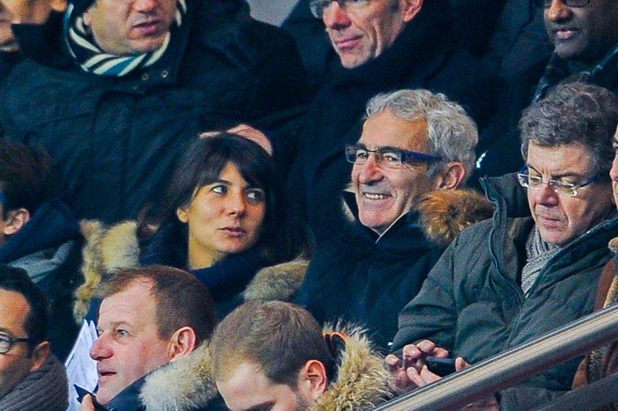 Couple sportif avec la présentatrice Estelle Denis et son mari Raymond Domenech