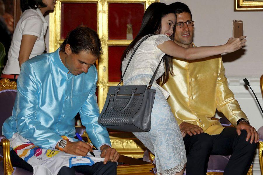 Djokovic et Nadal, princes de Thaïlande