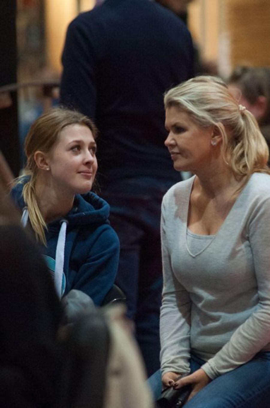 Gina et Corinna Schumacher